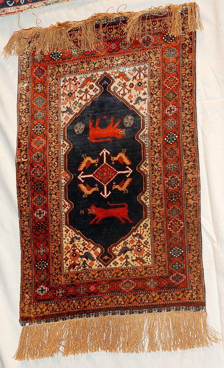 interior design rug on carpet